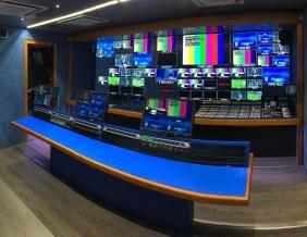arredamento tecnico per sala regia tv