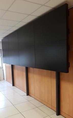 struttura videowall